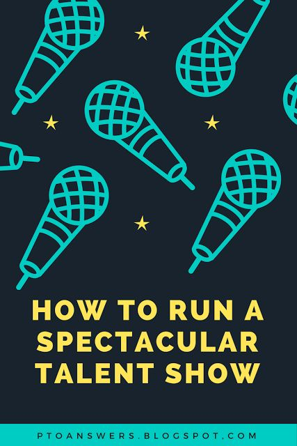How to run the most spectacular school talent show with step by step details to ensure complete perfectness!  See why you should be putting on a talent show for your PTA / PTO.