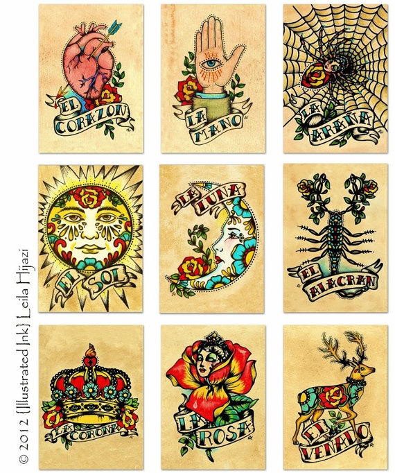 1000 images about tattoo on pinterest flag tattoos men for Bingo tattoo ideas