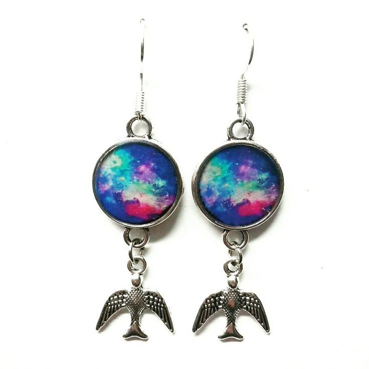 #love #birds #bijoux #jewerly #handmadeinlove #handmade #madewithlove #stars #woman #orecchini #earrings #cameo