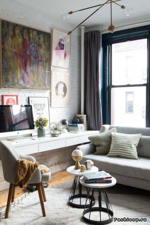 Интересные решения для маленьких квартир