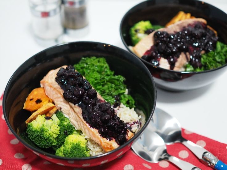 5 steps for a healthy brain and a recipe for balsamic blueberry glazed salmon