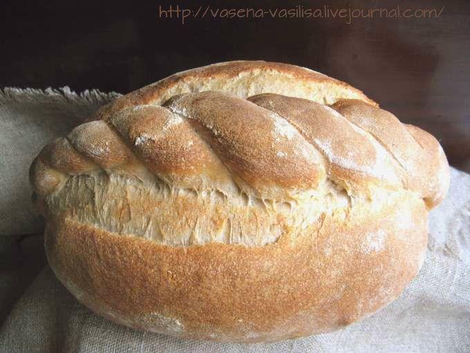 Горбушка хлеба - Хлеб Бургундский и холодная ферментация.