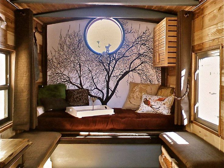 Tiny Home Designs: 115 Best Images About Home On Wheels On Pinterest
