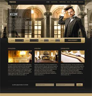Philoxenia Hotel theme for WordPress