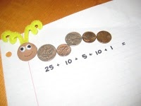 What a fun way to count coins!