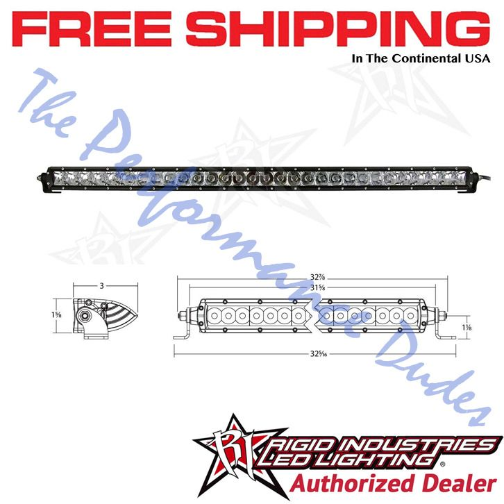 Same Business Day Shipping Rigid Industries SR-Series 30 inch Spot / Flood Combo LED Light Bar - #93031