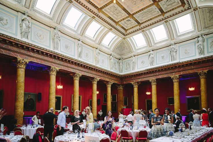 wedding breakfast at a wedding at Royal College of Physicians Edinburgh by Struve Photography