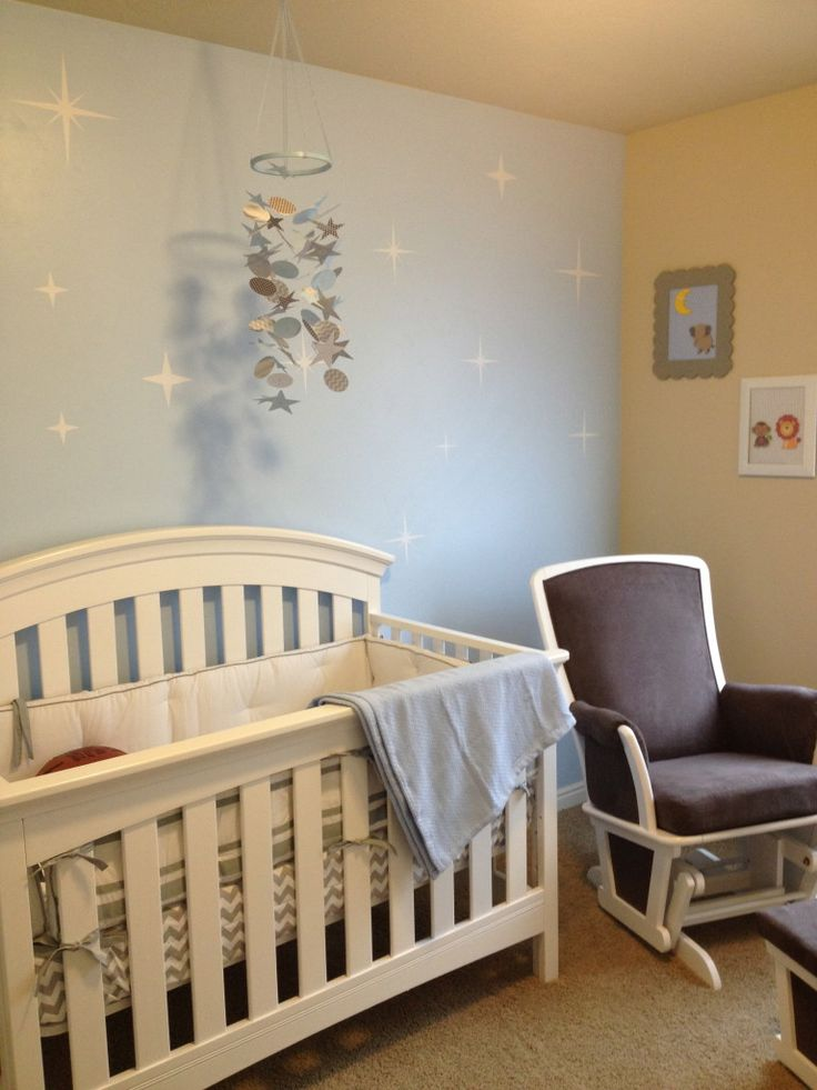 Sweet Baby Blue Nursery