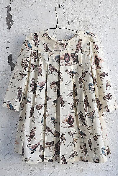 Fly Girls! 12 Bird Frocks and More For Little Girls Inspiration to create one of these.