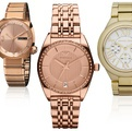 Rose Gold Watch | #watches #Vogue Montres gold