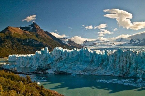 Glacial Perito Moreno Patagonia Argentina. Paisajes más impresionantes del planeta