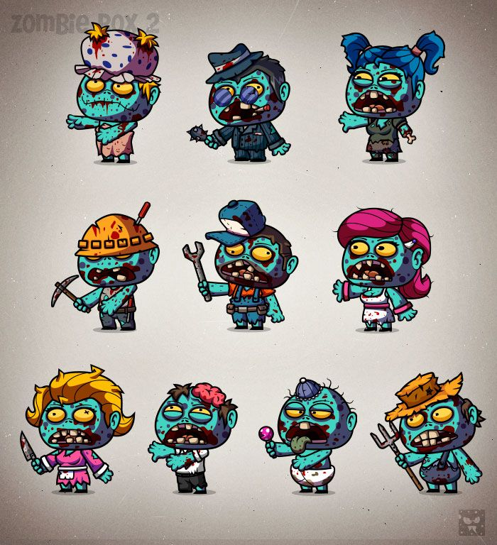 Design A Cartoon Character Game : The best ideas about zombie cartoon on pinterest