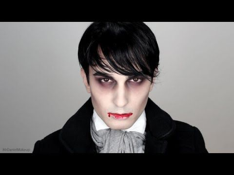 Easy Halloween Dark Shadows - Makeup Tutorial - YouTube