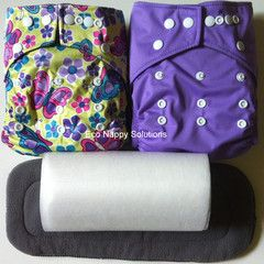 This is one of my favorites on Eco Nappy Solutions: Babyland Nappy Trial Pack