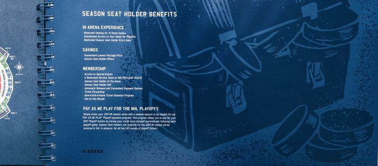 Toronto Maple Leafs 2017 Season Ticket Package on Behance