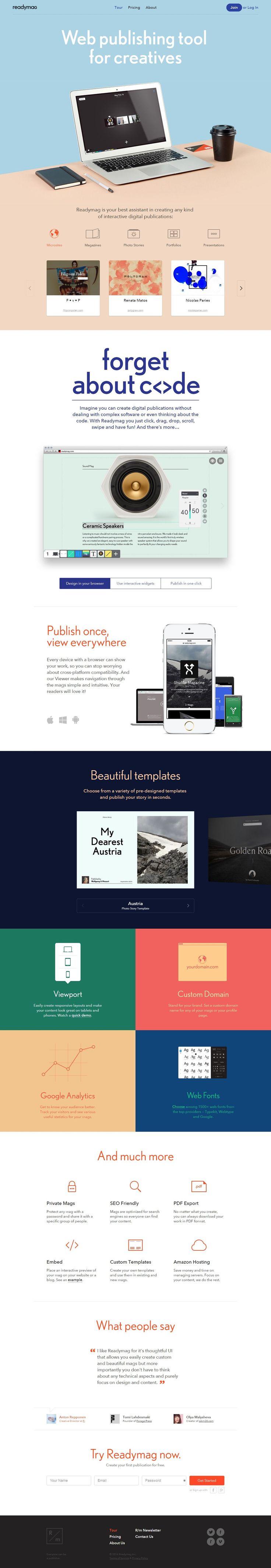 Readymag http://flattrendz.com/flat-design-gallery/readymag/