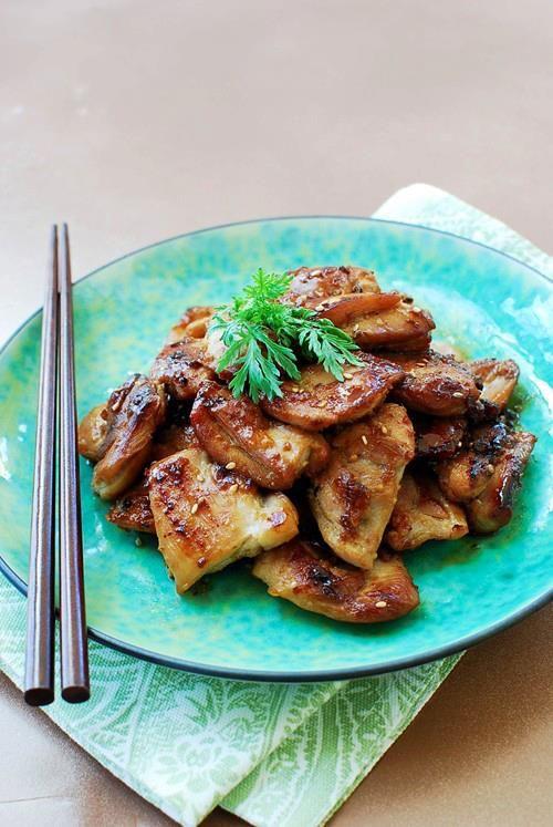 #Receta de Barbacoa de pollo coreana #HoyCocinaTV