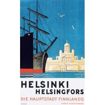 Die Hauptstadt Finnlands, 1930 - Göran Hongell  Gunnar Forrström