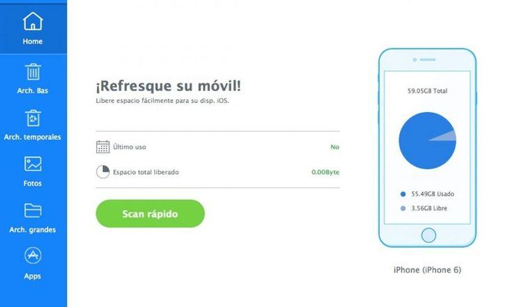 Cómo liberar espacio en tu iPhone o iPad con iMyfone Umate