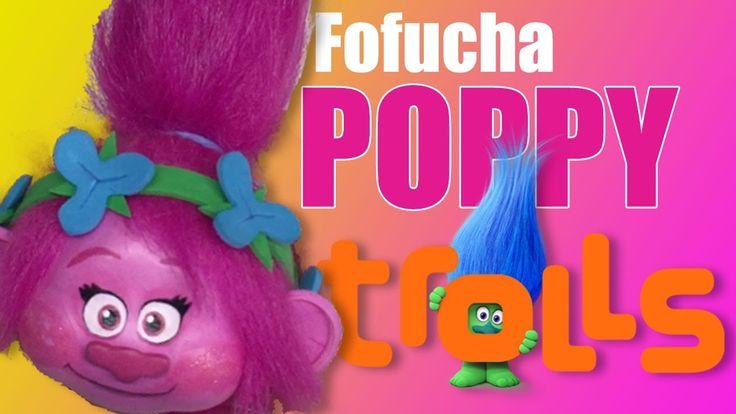 Como hacer cabeza fofucha Poppy Trolls - How to make Poppy Trolls head