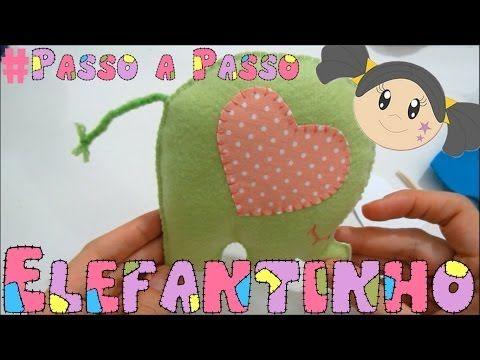 Elefantinho de Feltro - Passo a Passo com Priscila Cunha - YouTube