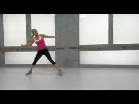 Turns out all the Aerobics videos I have are freaking hard! Here is a good beginner one - Aerobics for beginners -  feat. Wexer instructor Anna Virenhem