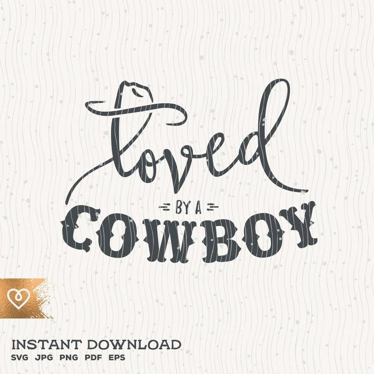 Download Cowboy Svg Loved By A Cowboy Svg Country Girl Rodeo Svg ...