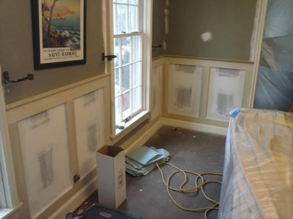 What Is Craftsman Board And Batten Wainscot Look Like Google Search Faux Wainscoting Diy
