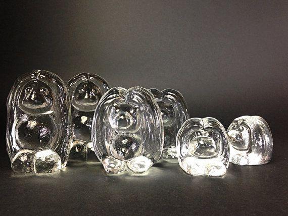 Bergdala glass Troll The Small / Vintage Swedish by ScandiModa