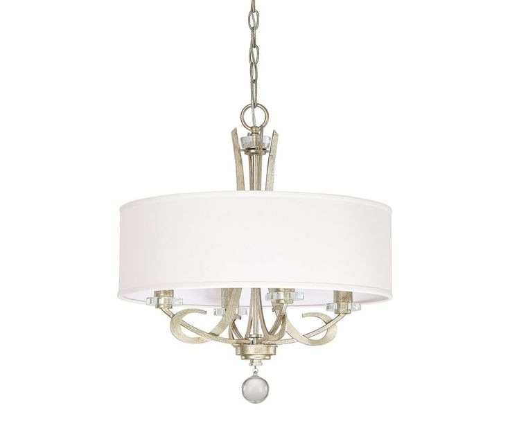 View the Capital Lighting 4264-568 Hutton 4 Light 1 Tier Drum Chandelier at LightingDirect.com.