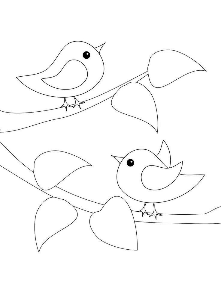 Ms de 25 ideas increbles sobre Dibujos de pjaro en Pinterest