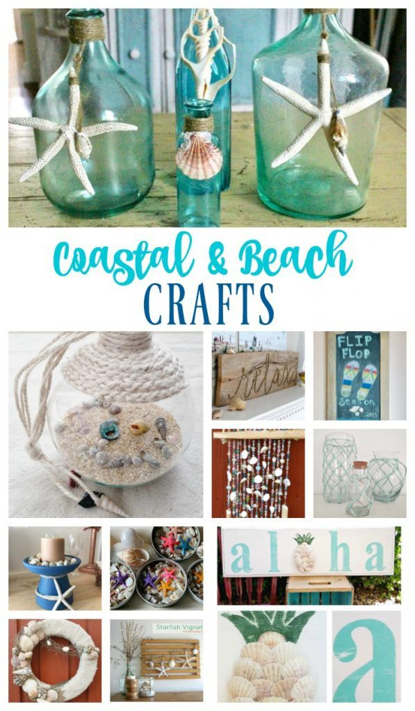 Cute Diy Home Decor Ideas: 1408 Best Images About Sea Glass And Beachy Ideas On