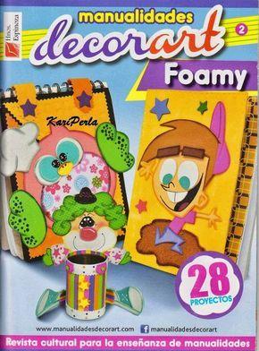 Revistas de manualidades Gratis: Manualidades en foamy paso a paso
