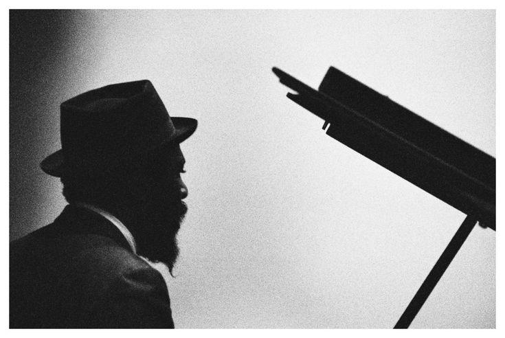 Thelonius Monk in Milano, 1964.