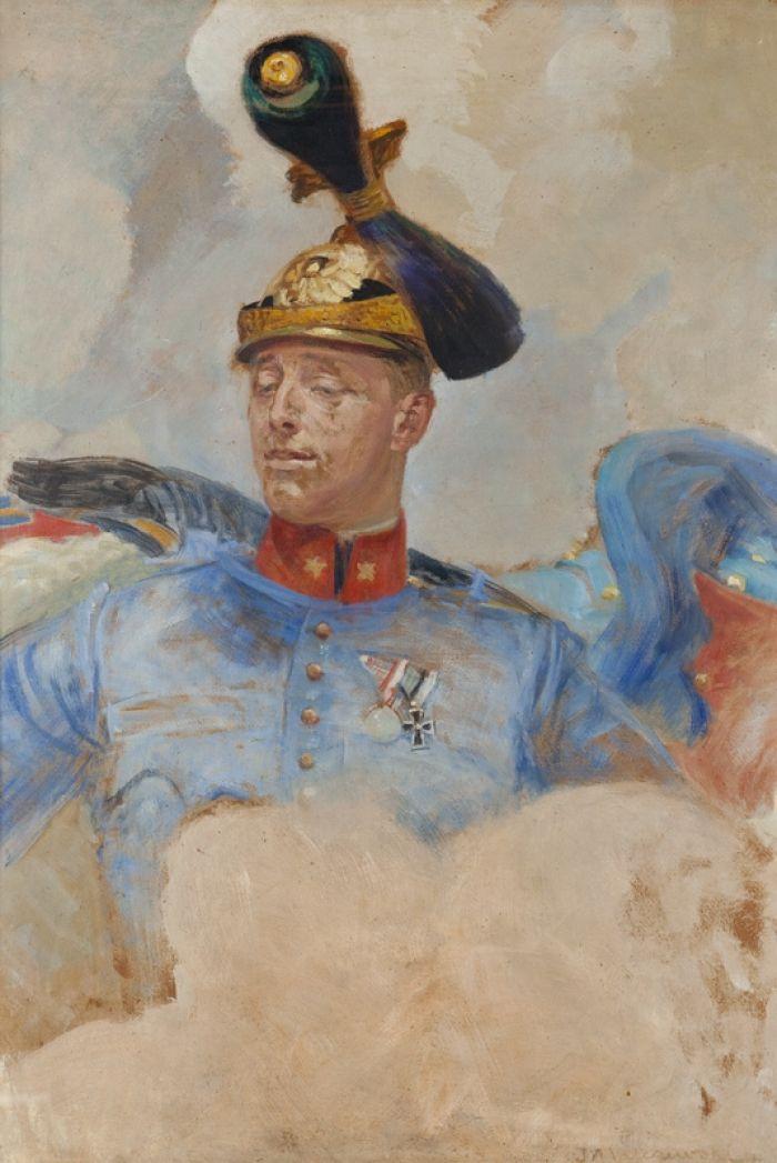 Jacek Malczewski - Portret ułana Pułku Galicyjskiego