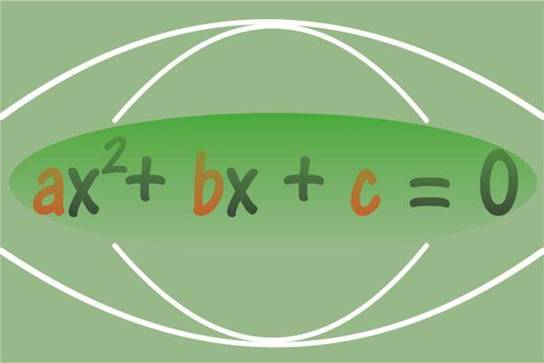 Gráfico da função quadrática e equação do 2º grau em uma planilha no Excel