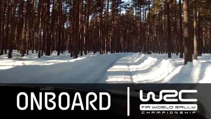 WRC Rally Sweden 2015: Onboard Mikkelsen SS15