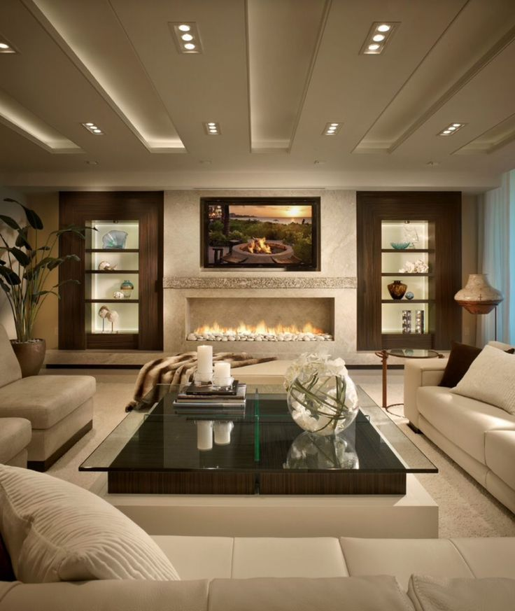 25 stunning fireplace ideas to steal - Great Room Design Ideas