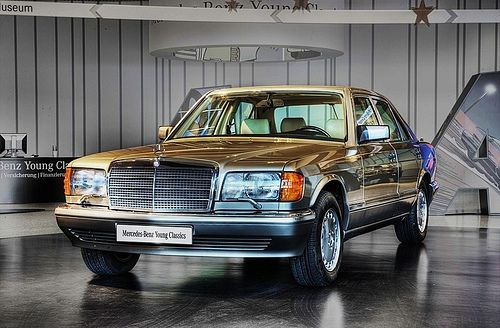 1990 Mercedes-Benz 420SEL. A true beauty.