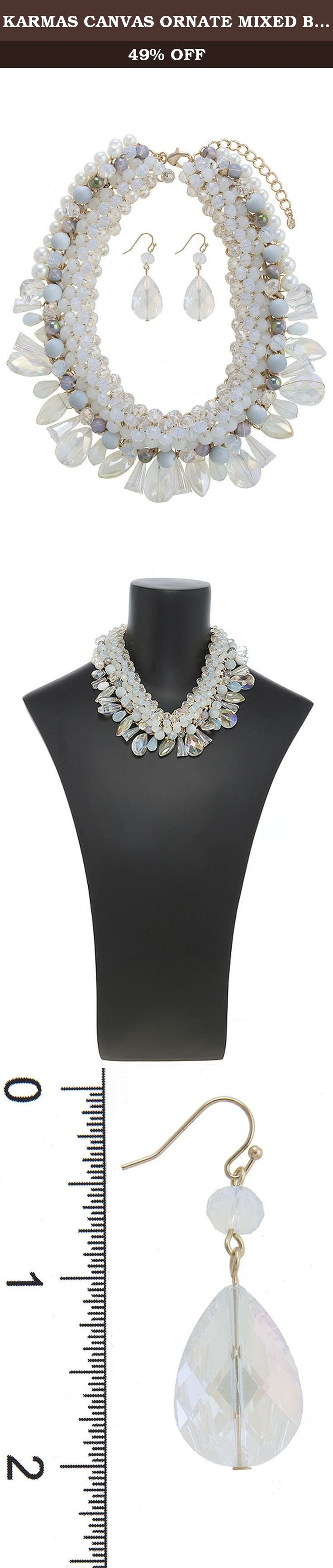 KARMAS CANVAS ORNATE MIXED BEADED BIB NECKLACE SET. FASHION DESTINATION PRESENTS KARMAS CANVAS ORNATE MIXED BEADED BIB NECKLACE SET. Buy brand-name Fashion Jewelry for everyday discount prices with Fashion Destination! Everyday LOW shipping *. Read product reviews on Fashion Necklaces, Fashion Bracelets, Fashion Earrings & more. Shop the Fashion Destination store for a wide selection of rings, bracelets, necklaces, earrings and diamond jewelry. Whether you are searching for men's jewelry...