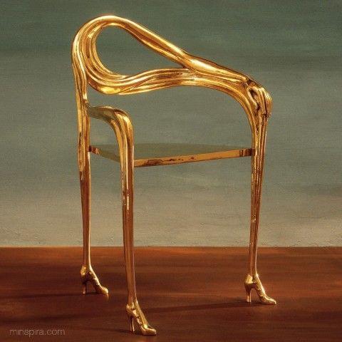 Silla Leda de Salvador Dalí
