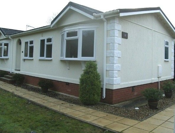 A Park Home After Wall Coating House Painting ExteriorPainted
