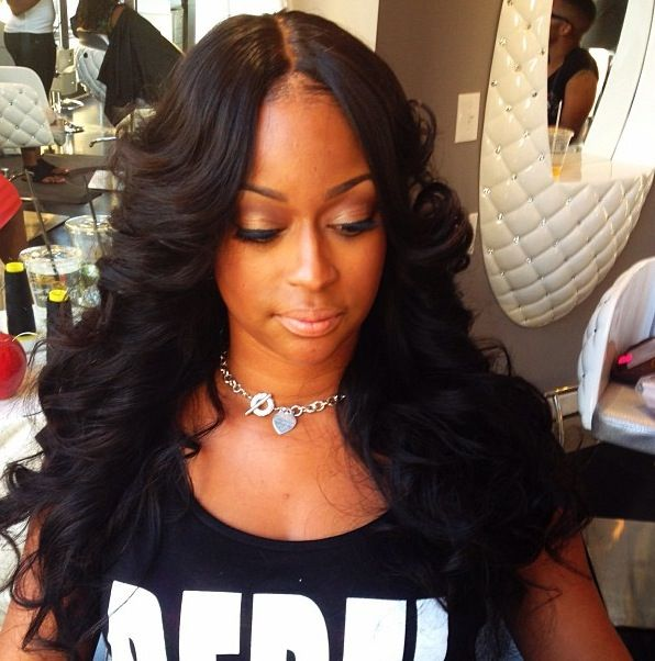 Invisible Part Sew In Curly Hair invisible part sew-inwig