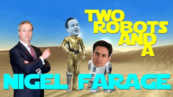 ♪ Two Robots & A Nigel Farage [UK Election Remix]