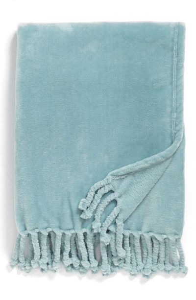 Kennebunk Plush Throw -Nordstrom Love this color!