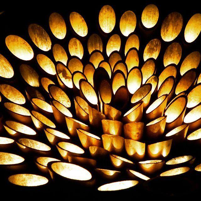「世界初で話題。池アートにカラフルな竹が日本庭園「御船山楽園」の夏を彩る」に含まれるinstagramの画像 MERY [メリー]