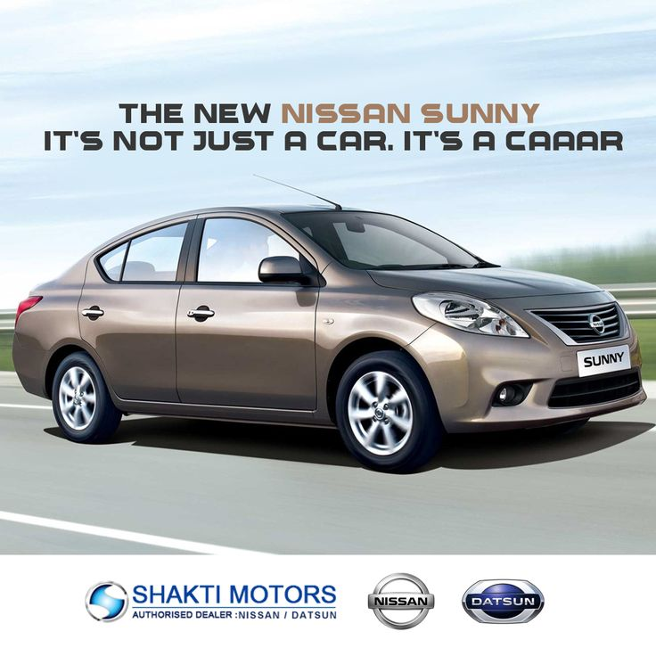 The new #NissanSunny Its not just a #Car, Its a caaar!  #NissanCars #Nissan #CAAAR