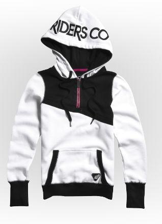 Girls Hoodies & Pullovers - Cornered Pullover Hoody #FoxRacing #FoxHead #FoxGirls #Hoody