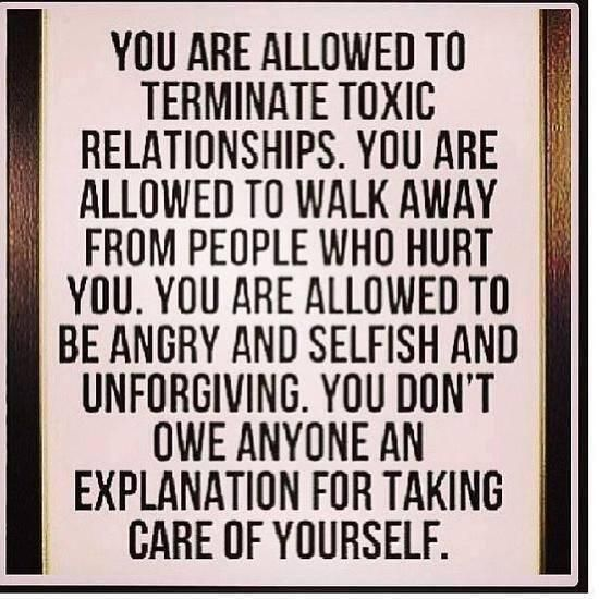 you don 39 t owe anyone an explanation for taking care of
