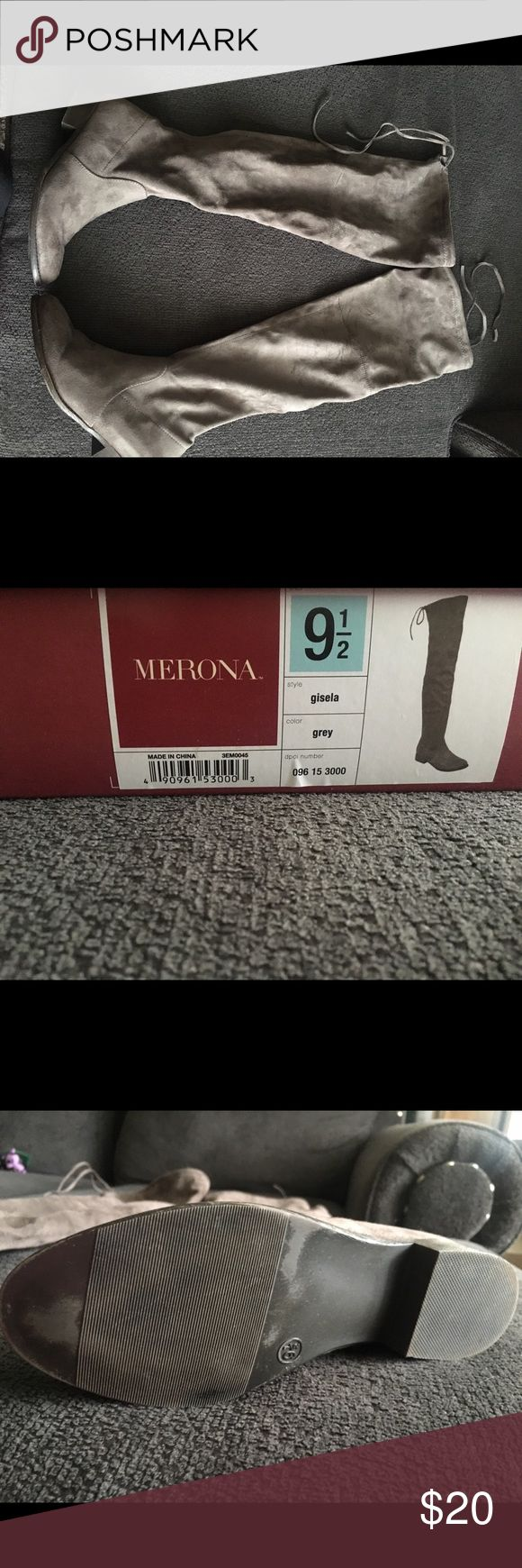 Boots Merona, from Target boots for sale. Only wore a few times. Very little wear on the soles. Excellent condition! Merona Shoes Over the Knee Boots